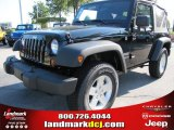 2011 Black Jeep Wrangler Sport S 4x4 #53917906