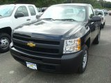 2011 Black Chevrolet Silverado 1500 Regular Cab #53917897