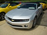 2012 Silver Ice Metallic Chevrolet Camaro LT/RS Convertible #53917889