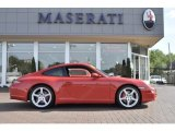2008 Guards Red Porsche 911 Carrera 4S Coupe #53917474