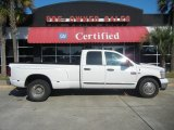 2007 Bright White Dodge Ram 3500 ST Quad Cab Dually #53917847