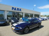 2011 Kona Blue Metallic Ford Mustang Shelby GT500 Coupe #53917978