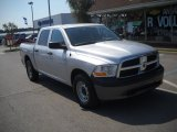 2010 Bright Silver Metallic Dodge Ram 1500 ST Quad Cab 4x4 #53941459