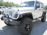 2010 Jeep Wrangler Unlimited Bright Silver Metallic