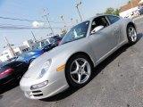 2008 Arctic Silver Metallic Porsche 911 Carrera Coupe #53941237