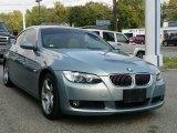 2007 Atlantic Blue Metallic BMW 3 Series 328xi Coupe #53941433