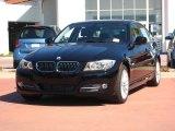 2011 Jet Black BMW 3 Series 335d Sedan #53941312
