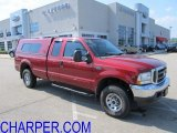 2002 Toreador Red Metallic Ford F250 Super Duty XLT SuperCab 4x4 #53941225