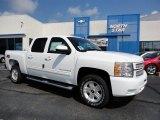 2012 Summit White Chevrolet Silverado 1500 LT Crew Cab 4x4 #53941410