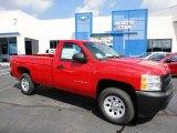 2011 Victory Red Chevrolet Silverado 1500 Regular Cab 4x4 #53941403