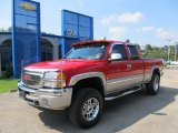 2005 Fire Red GMC Sierra 1500 Z71 Extended Cab 4x4 #53941359