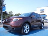 2012 Cinnamon Metallic Ford Explorer Limited #53961427