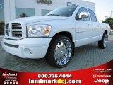 2007 Bright White Dodge Ram 1500 Sport Quad Cab #53961505