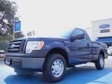 2011 Dark Blue Pearl Metallic Ford F150 XL Regular Cab #53961412