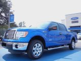 2011 Blue Flame Metallic Ford F150 XLT SuperCrew #53961411