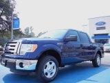 2011 Dark Blue Pearl Metallic Ford F150 XLT SuperCrew #53961410
