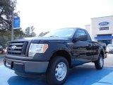 2011 Ebony Black Ford F150 XL Regular Cab #53961409