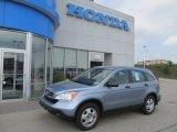 2008 Glacier Blue Metallic Honda CR-V LX 4WD #53961455