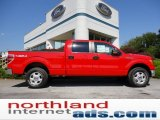 2011 Race Red Ford F150 XLT SuperCrew 4x4 #53961355