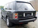 2004 Land Rover Range Rover Java Black
