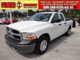 2011 Bright White Dodge Ram 1500 ST Quad Cab #53982502
