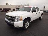 2008 Summit White Chevrolet Silverado 1500 LT Crew Cab 4x4 #53981417