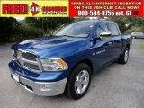 2011 Deep Water Blue Pearl Dodge Ram 1500 Laramie Crew Cab #53982491
