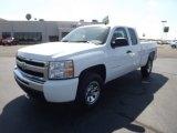 2011 Summit White Chevrolet Silverado 1500 LS Extended Cab 4x4 #53981400