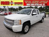 2008 Summit White Chevrolet Silverado 1500 LT Extended Cab #53982484