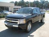 2010 Black Chevrolet Silverado 1500 LT Crew Cab #53981387