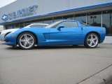 2008 Jetstream Blue Metallic Chevrolet Corvette Coupe #53983514