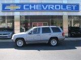 Silverstone Metallic Jeep Grand Cherokee in 2002
