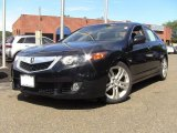 2010 Crystal Black Pearl Acura TSX V6 Sedan #53983420