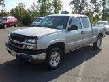 2005 Silver Birch Metallic Chevrolet Silverado 1500 LS Extended Cab 4x4 #53982358