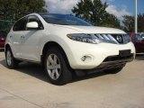 2009 Glacier Pearl Nissan Murano S AWD #53981218
