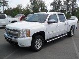 2011 Summit White Chevrolet Silverado 1500 LT Crew Cab #53982332