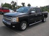 2011 Black Chevrolet Silverado 1500 LT Crew Cab #53982329