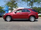 2010 Cardinal Red Metallic Chevrolet Equinox LTZ AWD #53983343