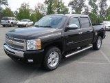 2011 Black Chevrolet Silverado 1500 LT Crew Cab 4x4 #53982326