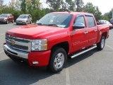 2011 Victory Red Chevrolet Silverado 1500 LT Crew Cab #53982318