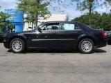 2008 Brilliant Black Crystal Pearl Chrysler 300 Touring #53983328