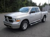 2012 Bright Silver Metallic Dodge Ram 1500 SLT Quad Cab 4x4 #53982300