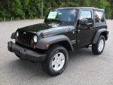 2012 Black Jeep Wrangler Sport S 4x4 #53982298