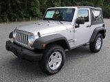 2012 Bright Silver Metallic Jeep Wrangler Sport S 4x4 #53982297