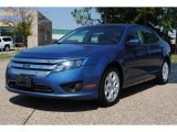 2010 Sport Blue Metallic Ford Fusion SE V6 #53981138