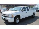 2009 Summit White Chevrolet Silverado 1500 LT Extended Cab 4x4 #53981110