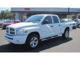 2008 Bright White Dodge Ram 1500 Sport Quad Cab 4x4 #53981091