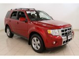 2009 Sangria Red Metallic Ford Escape Limited V6 4WD #53982228