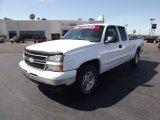 2006 Summit White Chevrolet Silverado 1500 LT Extended Cab 4x4 #53981074