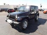 2012 Black Jeep Wrangler Sahara 4x4 #53981072
